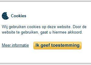 Cookies: ondubbelzinnige toestemming